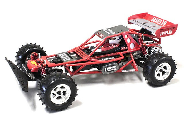 Kyosho OTB247R Body Red w/ Decal Set : 1/10 Buggy Javelin