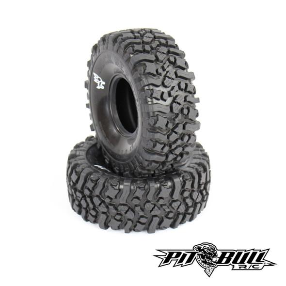 Pit Bull Xtreme RC Alien Kompound Rock Beast II Scale 2.2 RC Tires No Foam 2pcs