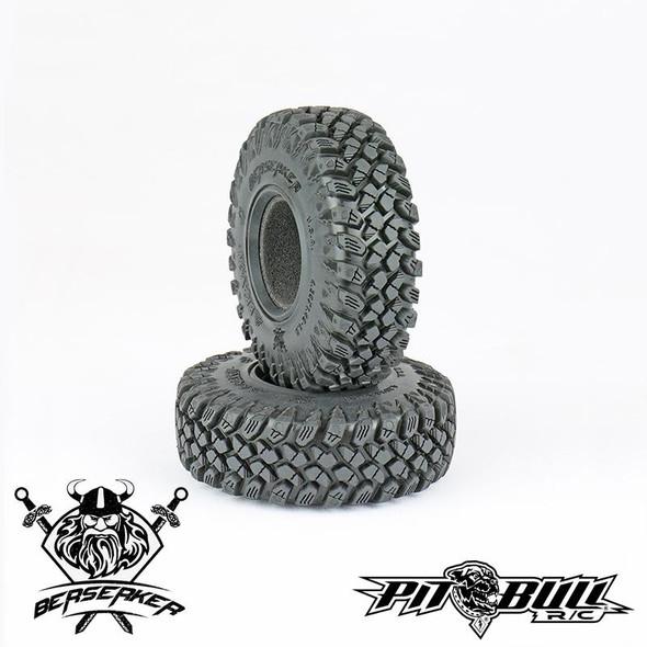 PITBULL PB9017AK Braven Berserker RC Tires 1.9'' Alien Kompound w/ Foam (2)