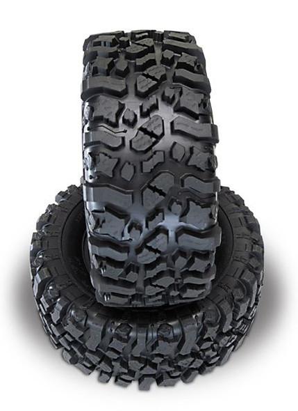Pit Bull Rock Beast XL 3.8 Scale Monster Truck Tires w/Foam (2) YETI XL / REVO