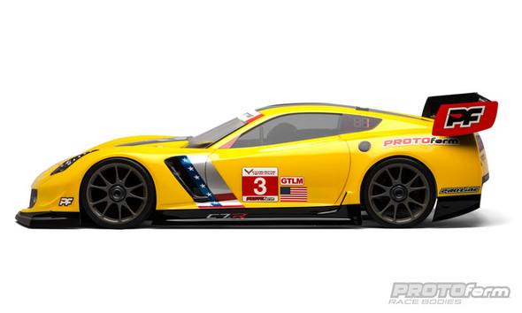 Protoform 1546-40 1/8 Chevrolet Corvette C7.R Clear Body Inferno GT2
