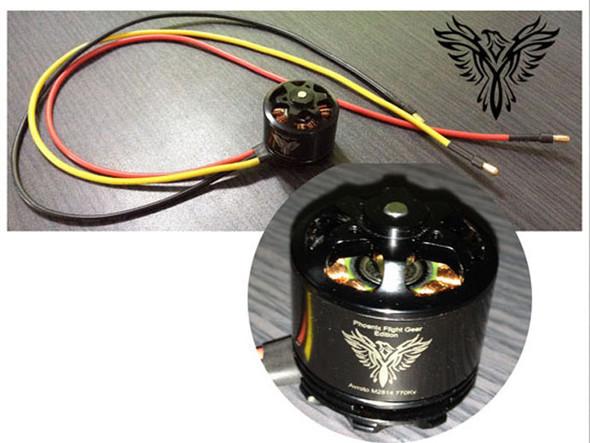 Phoenix Flight Gear Edition Avroto M2814P 770kv Brushless Motor DJI 450 / 550