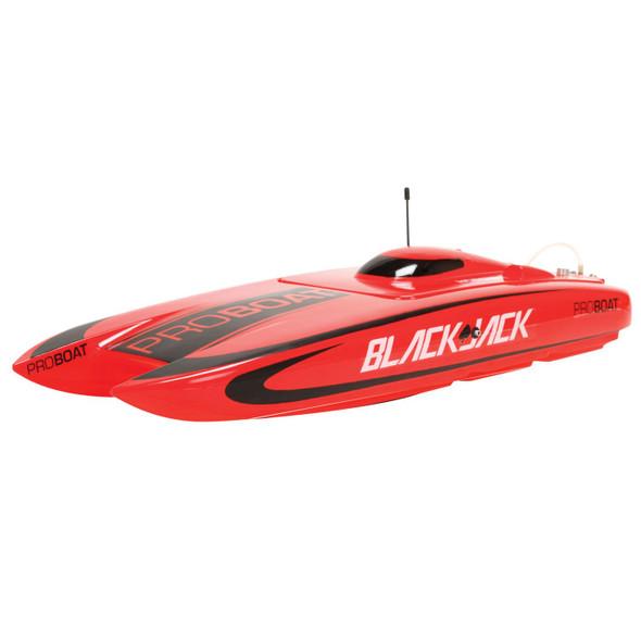 Pro Boat Blackjack 24-inch Catamaran Brushless Boat: RTR
