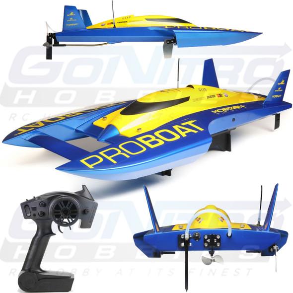 PROBOAT UL-19 30-inch Hydroplane Brushless RTR 50+MPH Boat w/ DX2E Radio