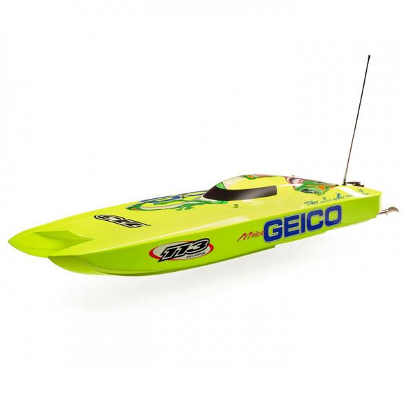Pro Boat PRB08040 Miss GEICO Zelos 36 Twin Brushless Catamaran RTR Boat