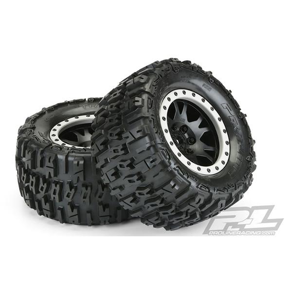 "Pro-Line 10151-13 Trencher 4.3"" Pro-Loc All Terrain Tires Mounted (2) : X-Maxx F/R"