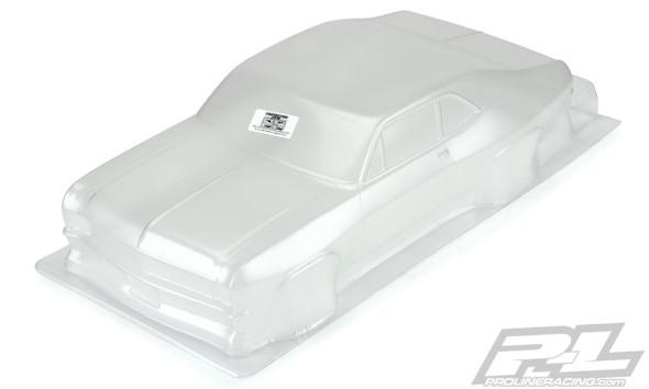 Pro-Line 3531-00 1969 Chevrolet Nova Clear Body : Slash 2WD Drag Car