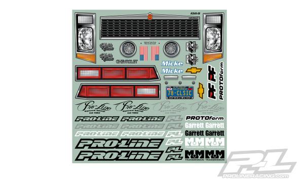 Pro-Line 3549-00 1978 Chevrolet Malibu Clear Body : Slash 2wd Drag Car & AE DR10
