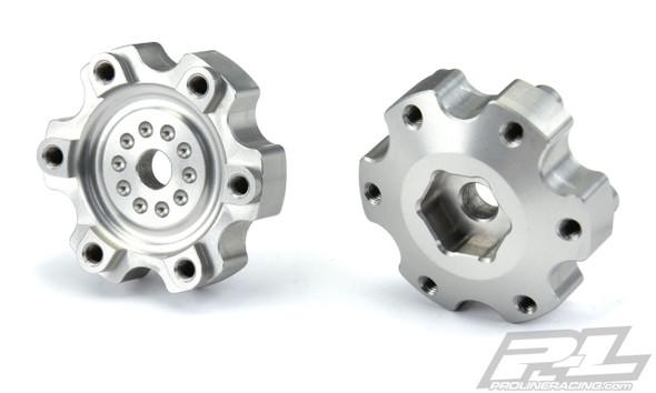 "Pro-Line 6337-00 6x30 to 12mm Aluminum Hex Adapters Narrow (2) : 6x30 2.8"" Wheels"