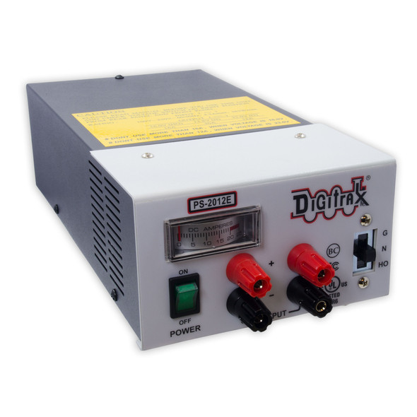 Digitrax  PS2012E 20 Amp Power Supply 13.8-23VDC