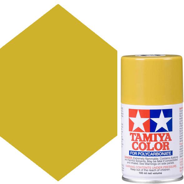 Tamiya Polycarbonate PS-56 Mustard Yellow Spray Paint 86056