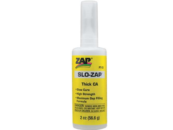 Pacer Zap Adhesives Slo Zap CA Glue 2 oz PT33