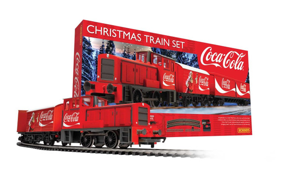 Hornby R1233 The Coca-Cola Christmas Train Set OO Scale