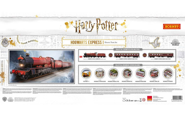 Hornby R1234 Harry Potter Hogwarts Express Train Set OO Scale