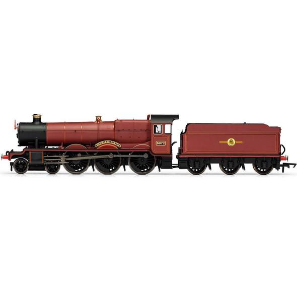 Hornby R3803TTS Harry Potter Hogwarts Castle 5972 Locomotive w/ Sound OO Scale