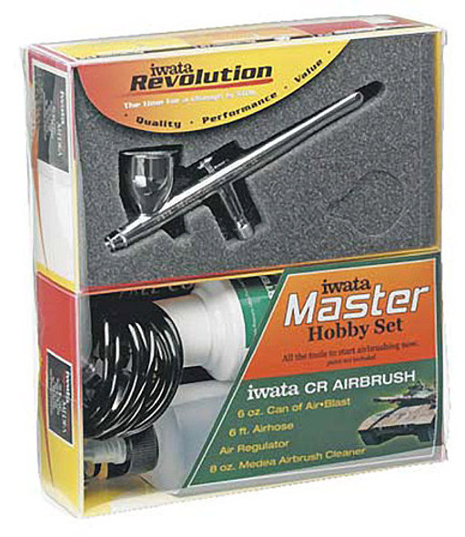 Iwata-Madea Master Hobby Revolution CR ALL IN ONE AirBrush Set R4600