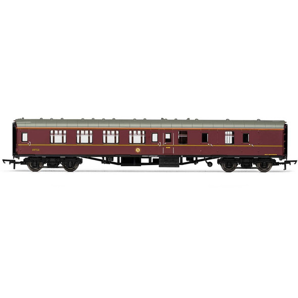 Hornby R4935A Harry Potter Hogwarts Express 99312 Brake Coach OO Scale