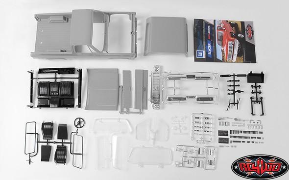 RC4WD Z-B0092 Chevrolet Blazer Hard Body Complete Set for Trail Finder 2 Truck