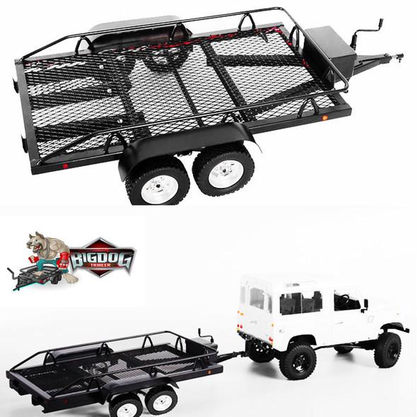 RC4WD Z-H0003 BigDog 1/10 Dual Axle Scale Car / Truck Trailer