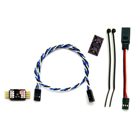 RC Lights RCL5052 Microbrake 6 LED Lights Controller