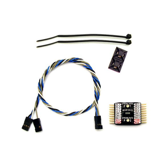 RC Lights RCL5057 Nightfly2 14 LED Lights Controller : RC Heli / Airplane