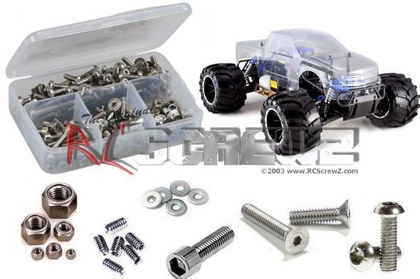 RC Screwz RCR043 RedCat Rampage MT V3 Stainless Screw Kit