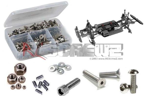 RC Screwz RCR066 Gen 8 P.A.C.K. Stainless Screw Kit