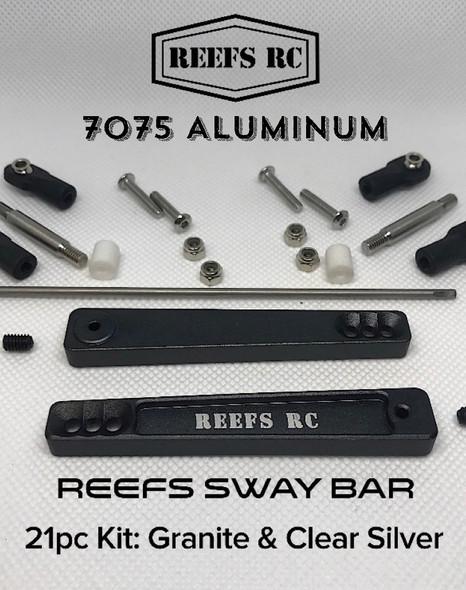 Reef's RC Sway Bar 7075 Hard Anodized Aluminum Kit Granite : Axial RR10 Bombers