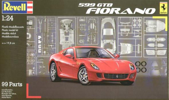 Revell 1:24 Scale 599 GTB Fiorano Model Kit 07310