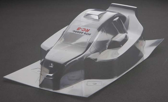 RJ Speed 1022 Max Force Buggy Clear Body : Associated RC8