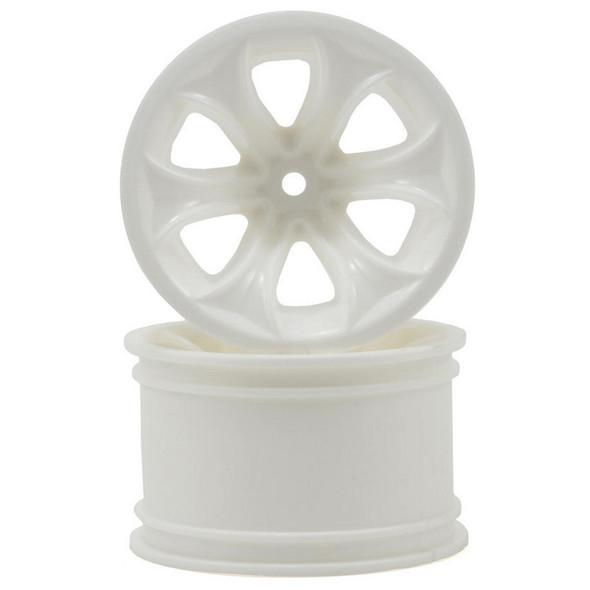 RPM Titan Stablemaxx White Wheels (2) : T & E Maxx / Savage