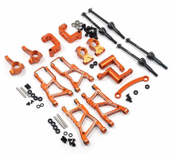 Yeah Racing RSS3-S01OR Orange Aluminum Essential Conversion Kit HPI RS4 Sport 3