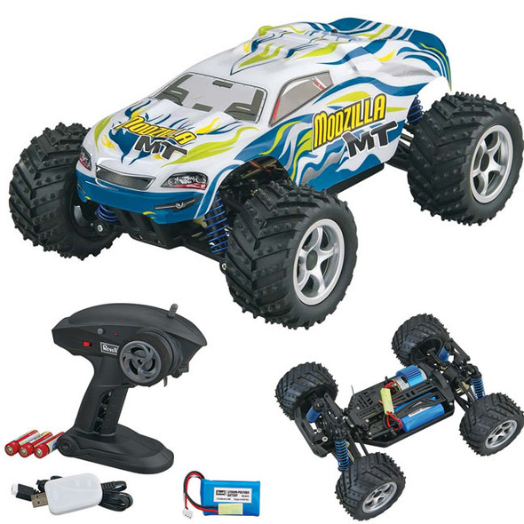Revell 1/18 Modzilla MT Monster Truck White 4WD RTR w/ Radio / Battery / Charger