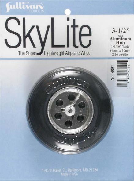 "Sullivan S851 SkyLite Wheel w/Aluminum Hub 3-1/2"" (1) Airplane"
