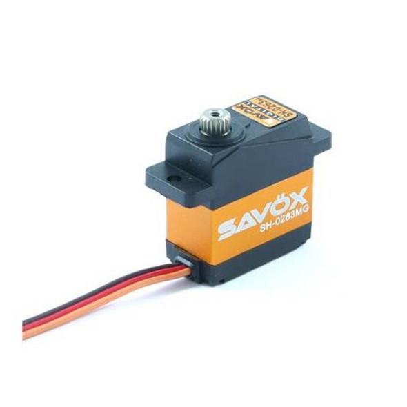 Savox SH-0263MG Torque Micro Digital Servo T-REX 250 450