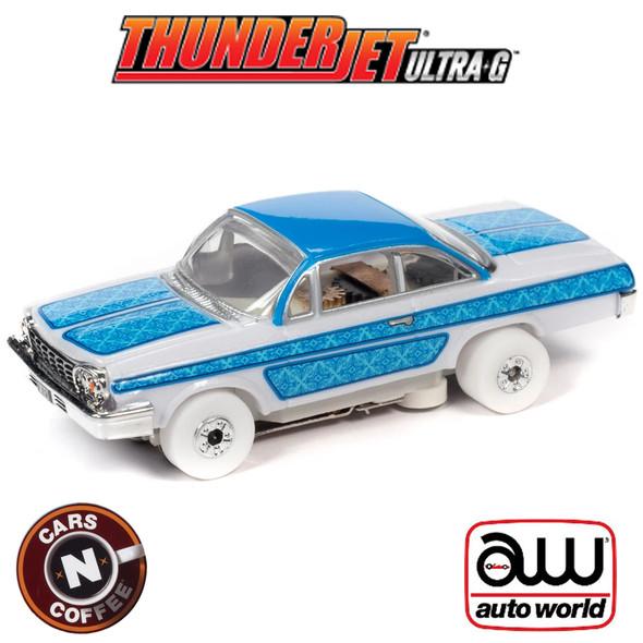 Auto World Thunderjet R31 1962 Chevrolet Bel Air Lowrider iWheels HO Slot Car