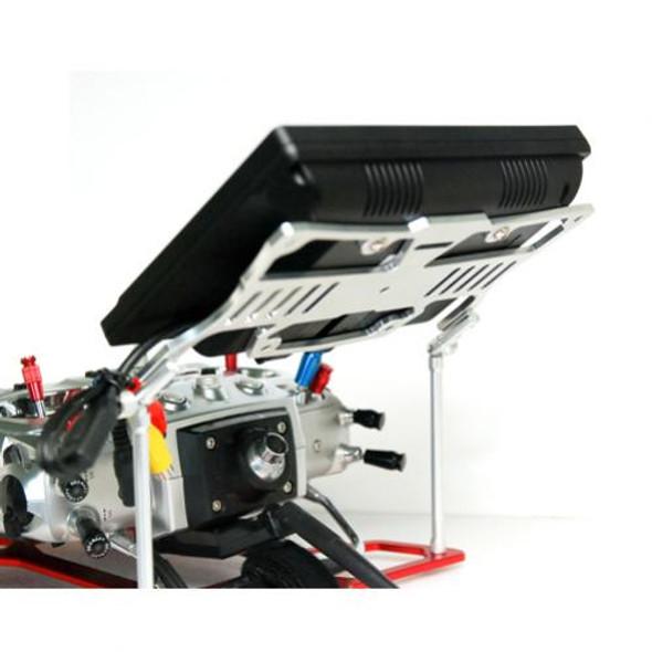 Secraft FPV Station Aluminum SIlver For SE TX_Tray V1 : Futaba / JR / Spektrum / Airtronics