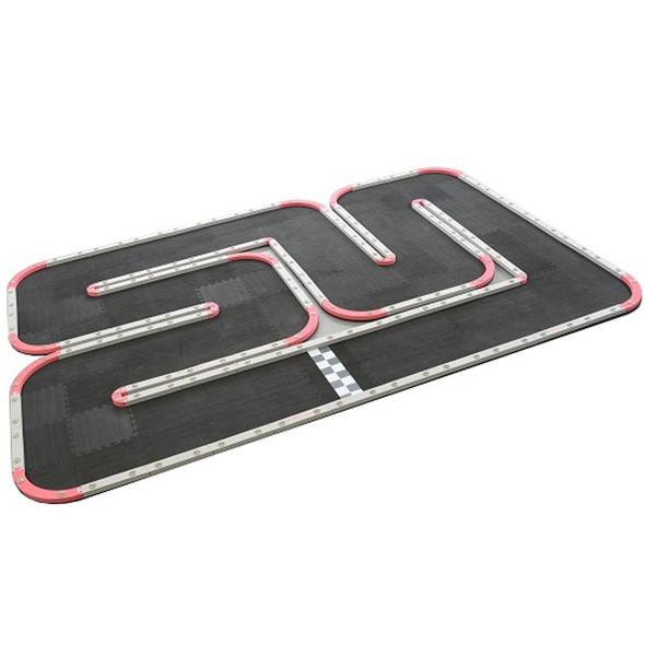 "RCP-TRACKS Mini-96 Track Kit 7' 9"" X 11' 8"" : Mini-Z"