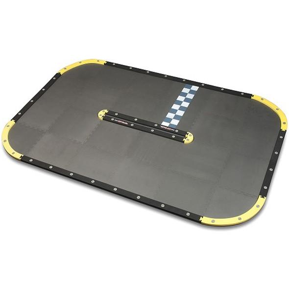RCP-TRACKS Yellow Oval Sport Track Kit 10' x 6'6'' : Mini-Z