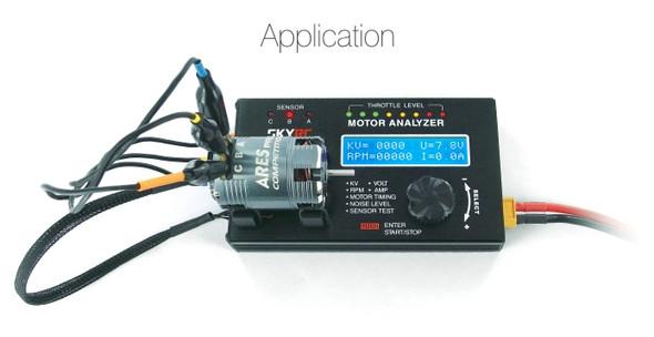 SkyRC BMA-01 Brushless Motor Analyzer / RPM / KV / Voltage / Ampere Measurement