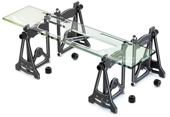 SKYRC Camber/ Toe/ Steering/ Caster Measurement Setup Tool System Black