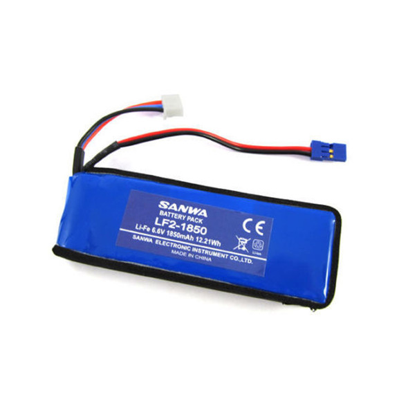 Sanwa Airtronics LF2-1850 Li-Fe 6.6V 1850mAh 2S Battery Pack