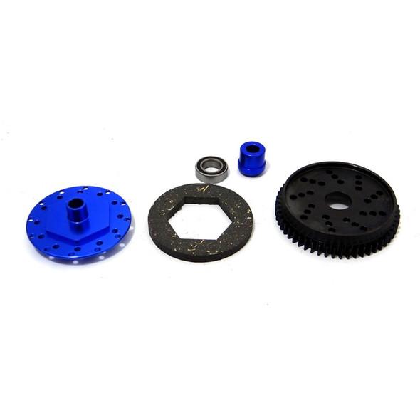 Hot Racing SSLF254X 54T Slipper Kit & Steel Spur Gear: Traxxas Rally VXL/Slash 4x4