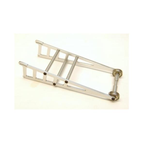 STRC ST3678WS Aluminum Wheelie Bar Kit : Slash 2WD / Rustler / Bandit Silver