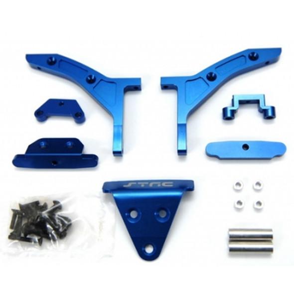 STRC ST6808B 1/8 E-Buggy Conversion Kit Blue : Traxxas Slash 4x4