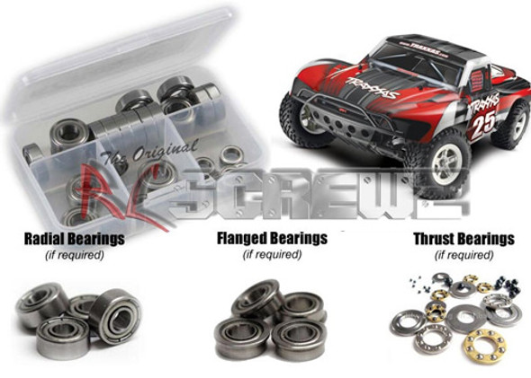 RC Screwz Precision Metal Bearing Traxxas Slash TRA033B