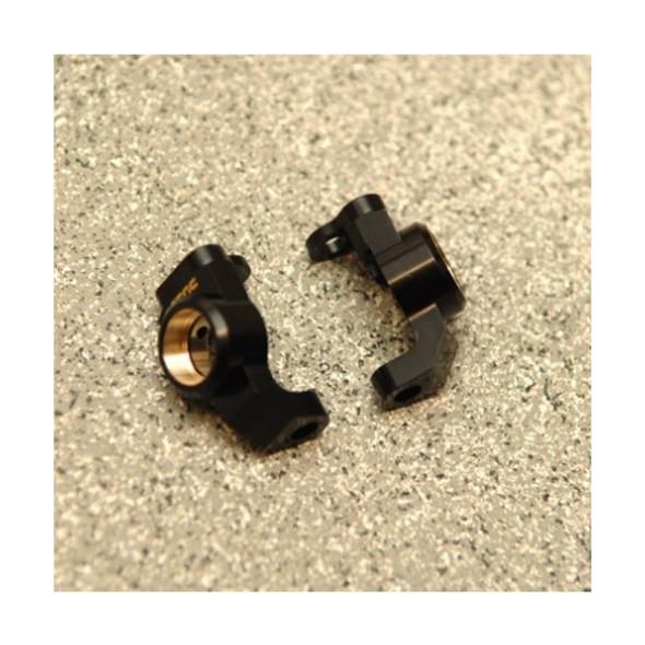 STRC STH116868KBR Machined Brass Front Steering Knuckle  (2) : HPI Venture Black