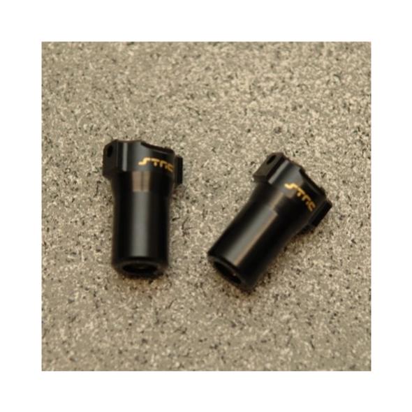 STRC STH116868LBR Brass Precision Rear Lock-outs : HPI Venture Black