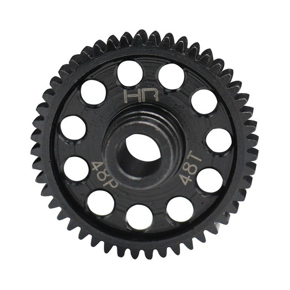 Hot Racing STRF448 Speed Run Steel Spur Gear (48T 48P) : Traxxas 4-Tec 2