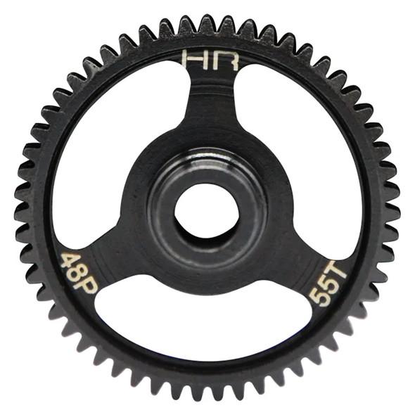 Hot Racing STRF455 Steel Spur Gear (55t 48p) : Traxxas 4-Tec 2.0